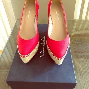 Oscar de la Renta Shoes - Oscar de la Renta Paloma Wedges
